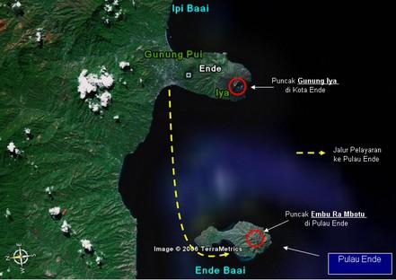 Jalur ke Pulau Ende