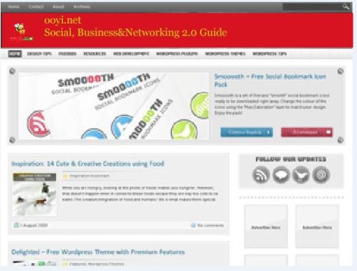 Themes ooyi.net pertama
